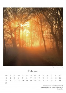 Ansicht Februar